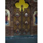 Царские врата для церквей под заказ фото