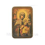 Икона Богородица Неустанной Помощи ХVIII в. фото