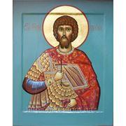 "Именная икона ""Святой мученик Евгений"". фото"