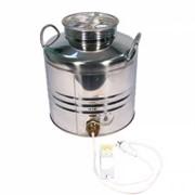 Бидон для браги из нержавейки 30 л с ТЭНом 3 кВт и термометром фото