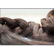 Натуральные славянские волосы детские темные фото