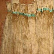 Срез натуральных скандинавских волос 80 см. Масса: 100, 150, 200 грамм. фото