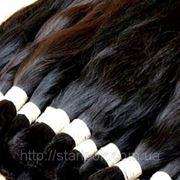 100% натуральный срез европейских волос фото