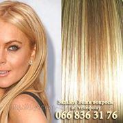 Натуральне накладне волосся на кліпсах фото