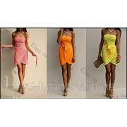 Платье горох в расцветках фото