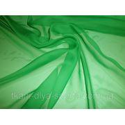 Шифон зеленый фото