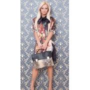 Женское Платье-туника шифон Ангел фото