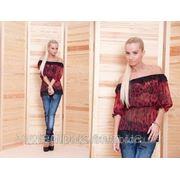 Женская Блуза шифон лео фото