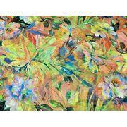 Шифон Цветок (корал) (арт. 1574) фото