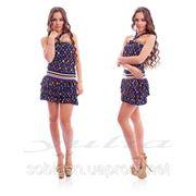 Платье ЛВ цветное фото