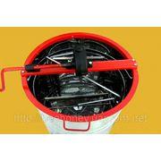 Медогонка 2 кассеты поворотные Дадан, бак, кассеты, ротор нержавеющая сталь.
