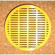 Колпачки для маток круглый пластмассовый O 100 мм. фото
