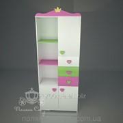 Шкаф - стеллаж Принцесса фото