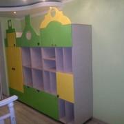Шкаф-стеллаж детский фото