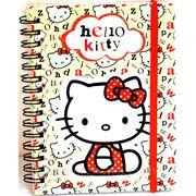 Блокнот А6 80л Kite Hello Kitty на спирали рез. HK13-229K