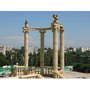 Колонна декоративная римская D=350 мм фото