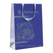 """Бумажный пакет, сумка """"Агросервис"""" фото"""