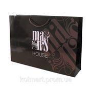 "Бумажный пакет, сумка ""MansHouse"" фото"