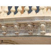 Покатые края крыши фронтона фото