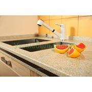Кухонные столешницы из искусственного камня, изготовление столешниц для кухни