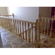 Изготовления и установка деревянной лестницы