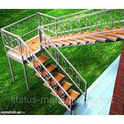 Изготовление лестниц. Лестницы и ограждения в Севастополе и Ялте фото