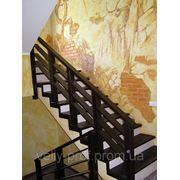 Лестница в стиле кантри фото