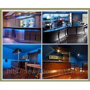 Стойки для ресторанов и кафе: изготовление и дизайн мебели под заказ фото