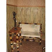 Бамбуковая мебель в квартире фото