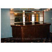Корпусная мебель для баров и ресторанов. фото