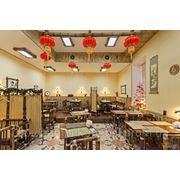 """Мебель из бамбука и дерева. Ресторан """"Брюс Ли"""" Киев"""