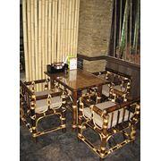 """Мебель из бамбука ресторан """"Сатори"""" Днепропетровск фото"""