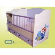 Кровать-трансформер «Русалочка» фото
