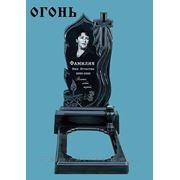"""Памятник из гранита """"Огонь"""" фото"""