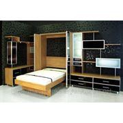 Кровать встроенныа фото