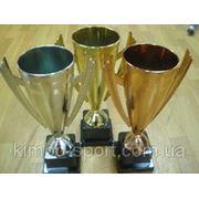 Кубки наградные, высота - 37 см. (золото, серебро, бронза) фото
