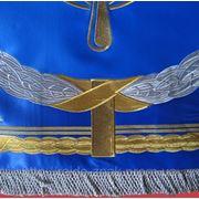 Флаги с вышивкой. фото