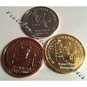 Настольные медали на конкурс. фото