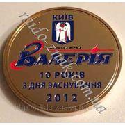 Юбилейная настольная медаль. фото