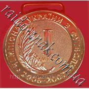 Изготовление медалей, спортивные медали на ленте.