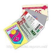 Пластиковые карты, пластиковые удостоверения фото