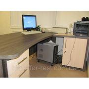 Стол с надстройкой в киеве (изготовление офисной мебели под .