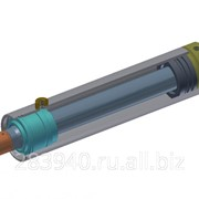 Гидроцилиндр ГЦО2-63x28x250 фото
