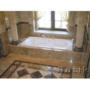 Ванні кімнати з мармуру. фото