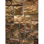 Отделка фасада искуственным камнем фото