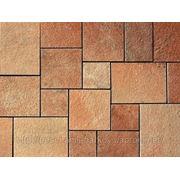 Плитка из песчаника(кратное пяти) 10x10см-30x30см фото