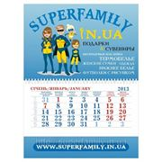 "Мини квартальный календарь ""Superfamily"""