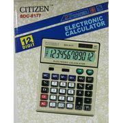 Калькулятор Citizen 8177 фото