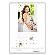Дизайн и печать календарей. фото
