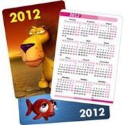 Карманные календарики фото